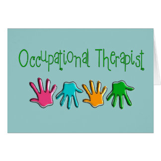 Occupational Therapist Gifts Card