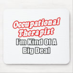 Occupational Therapist...Kind of a Big Deal Mouse Pad