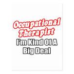 Occupational Therapist...Kind of a Big Deal Postcard