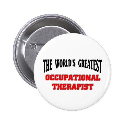 Occupational Therapist Pinback Button