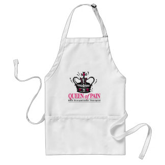 Occupational Therapist - Queen of Pain Adult Apron