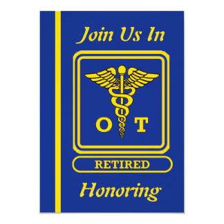 Occupational Therapist Retirement Invitation