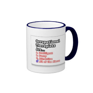 Occupational Therapist Ringer Coffee Mug
