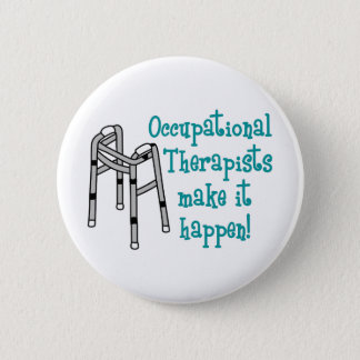 OCCUPATIONAL THERAPISTS BUTTON