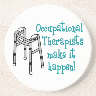 OCCUPATIONAL THERAPISTS BEVERAGE COASTERS
