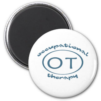 Occupational Therapy 2 Inch Round Magnet