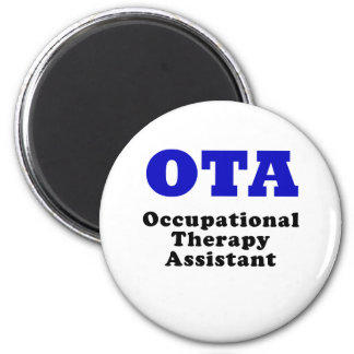 Occupational Therapy Assistant 2 Inch Round Magnet