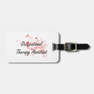 Occupational Therapy Assistant Artistic Job Design Tags For Bags