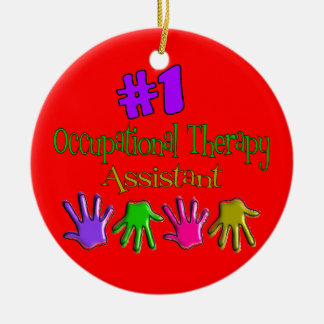 Occupational Therapy Assistant Christmas Ornament