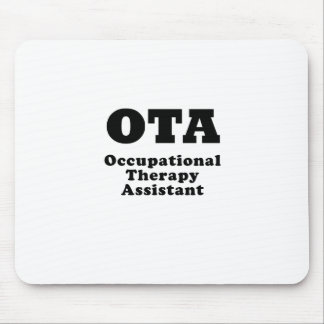 Occupational Therapy Assistant Mouse Pad