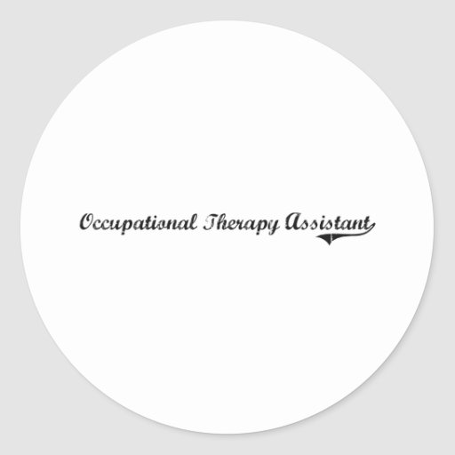 Occupational Therapy Assistant Professional Job Stickers