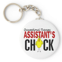 OCCUPATIONAL THERAPY ASSISTANT'S CHICK KEYCHAIN