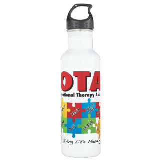 Occupational Therapy Assistant Stainless Steel Water Bottle