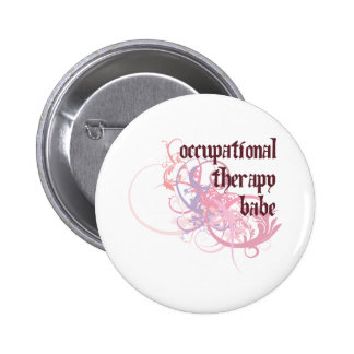 Occupational Therapy Babe Pinback Button
