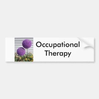 Occupational Therapy Car Bumper Sticker