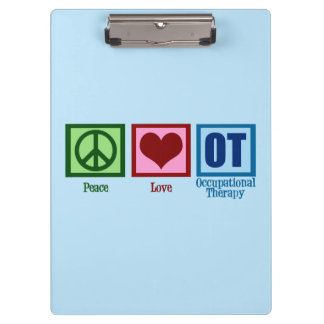 Occupational Therapy Clipboard