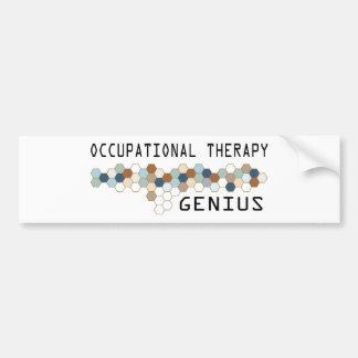 Occupational Therapy Genius Bumper Sticker