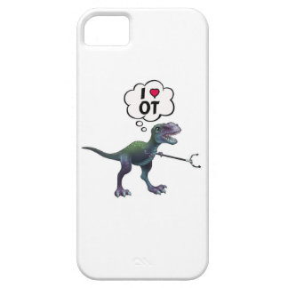 Occupational Therapy Happy Dinosaur iPhone 5 Cover