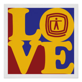 Occupational Therapy Love Poster
