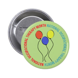 Occupational Therapy Month Button Balloons