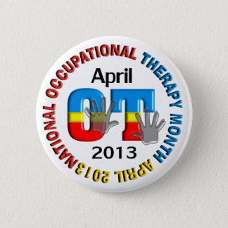 Occupational Therapy Month Buttons 2013