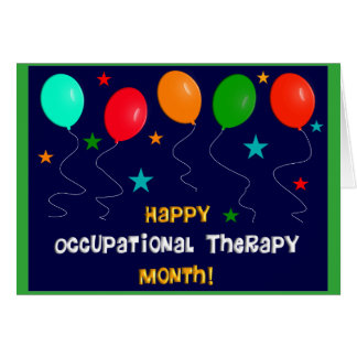 Occupational Therapy Month Card
