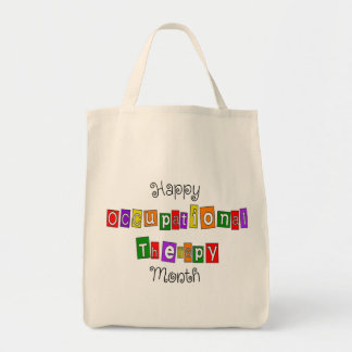 Occupational Therapy Month Tote Bags
