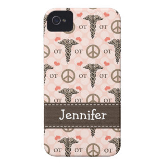 Occupational Therapy OT Caduceus iPhone 4 4s Case- iPhone 4 Case-Mate Case