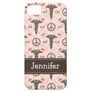 Occupational Therapy OT Caduceus iPhone 5 Cover