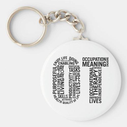 Occupational Therapy OT Keychain