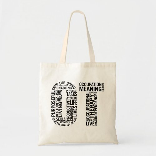 Occupational Therapy OT Tote Bag
