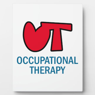 OCCUPATIONAL THERAPY DISPLAY PLAQUES