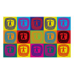 Occupational Therapy Pop Art Poster