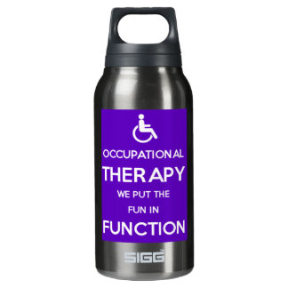 Occupational Therapy Rehab Insulated Water Bottle