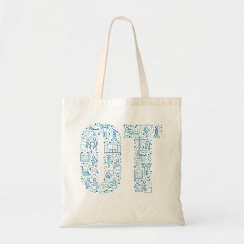 Occupational Therapy Rehabilitation OT Tote Bag