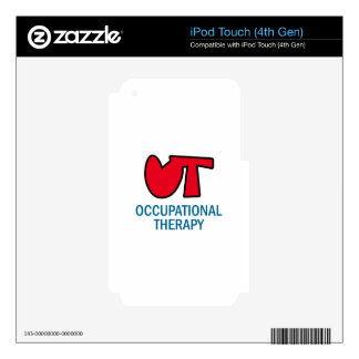 OCCUPATIONAL THERAPY iPod TOUCH 4G DECAL