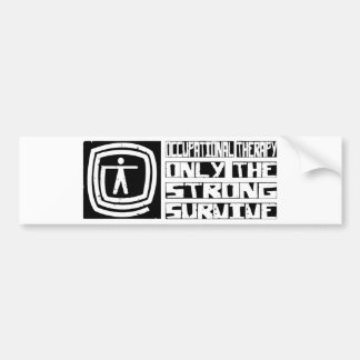 Occupational Therapy Survive Bumper Sticker