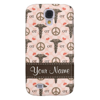 Occupational Therapy Therapist Caduceus 3 C Samsung Galaxy S4 Cover