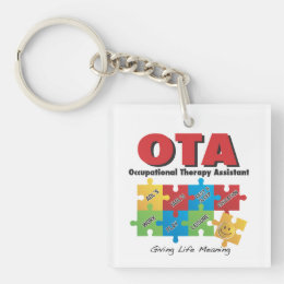 OccupationalTherapy Assistant Keychain