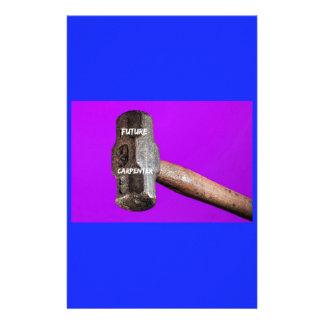 Occupations: Future Carpenter Sledgehammer Design Stationery
