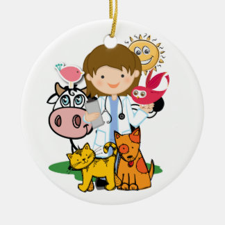 Occupations - Veterinarian - SRF Christmas Ornaments