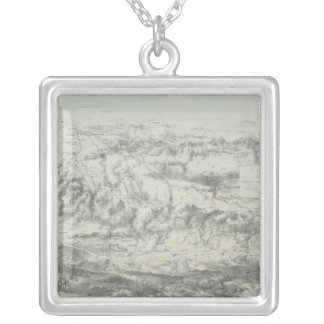 Occupied by Russia Silver Plated Necklace