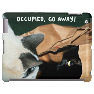 Occupied, Go Away! Funny Cats