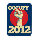 Occupy 2012 flexible magnet