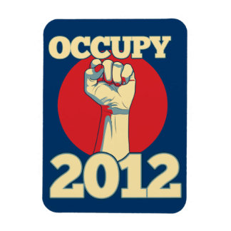 Occupy 2012 magnet