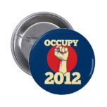 Occupy 2012 pinback buttons
