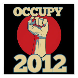Occupy 2012 posters