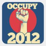 Occupy 2012 stickers