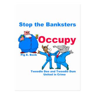 Occupy #2 postcard