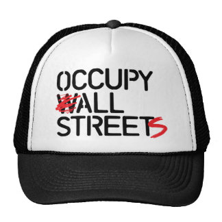 Occupy All Streets Hats